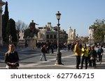 rome  italia  feb 27.2017  ... | Shutterstock . vector #627766715