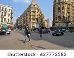 cairo  egypt   january 20  2011 ... | Shutterstock . vector #627773582
