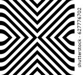 seamless pattern with black... | Shutterstock .eps vector #627776702