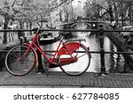 A Picture Of A Lonely Red Bike...