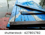 Wooden Platform  Covered With...