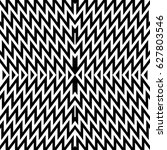zigzag lines. jagged stripes.... | Shutterstock .eps vector #627803546