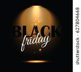 black friday design template... | Shutterstock .eps vector #627804668
