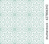 hand drawn lace seamless... | Shutterstock .eps vector #627806342