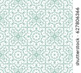hand drawn lace seamless... | Shutterstock .eps vector #627806366