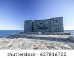 banyuls sur mer france january... | Shutterstock . vector #627816722