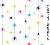seamless vector pattern  ... | Shutterstock .eps vector #627818546