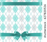 argyle background gradient mesh ... | Shutterstock .eps vector #627820526