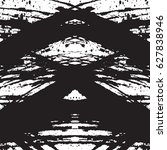 black and white vintage grunge... | Shutterstock .eps vector #627838946