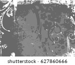 background with grunge texture. ... | Shutterstock .eps vector #627860666