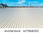 architectural detail of metal... | Shutterstock . vector #627868202