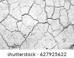 cracked ground texture... | Shutterstock . vector #627925622