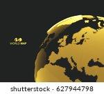 Africa And Europe. Earth Globe. ...