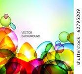 abstract vector background. | Shutterstock .eps vector #62795209
