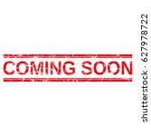 "grunge stamp ""coming soon"". | Shutterstock .eps vector #627978722"