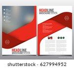 abstract vector modern flyers...   Shutterstock .eps vector #627994952