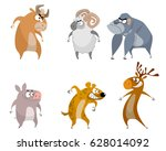vector illustration of a six...   Shutterstock .eps vector #628014092