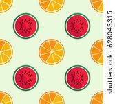 tiled seamless pattern of...   Shutterstock .eps vector #628043315