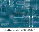 engineering backgrounds.... | Shutterstock .eps vector #628044872