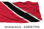 isolated trinidad and tobago... | Shutterstock . vector #628067546