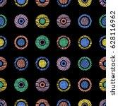 seamless geometrical pattern... | Shutterstock . vector #628116962