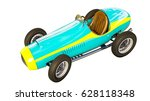 Retro Sport Racing Car 3d...
