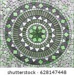 beautiful marble tile pattern...   Shutterstock . vector #628147448
