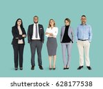 diverse business people set... | Shutterstock . vector #628177538