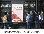 network graphic overlay banner... | Shutterstock . vector #628196786