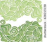 beautiful green background of... | Shutterstock .eps vector #628215158