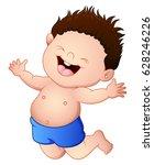vector illustration of cartoon... | Shutterstock .eps vector #628246226