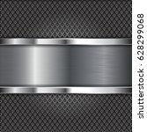 metal perforated background... | Shutterstock . vector #628299068