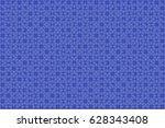 500 Blue  Puzzles Pieces...