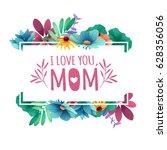 banner design template i lome... | Shutterstock .eps vector #628356056