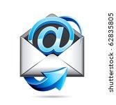 e mail icon | Shutterstock . vector #62835805