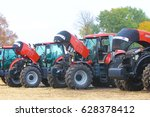 agricultural machinery. tractor ... | Shutterstock . vector #628378412