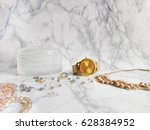 Jewelry On The Marble Table