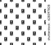zombie road sign pattern... | Shutterstock .eps vector #628397828