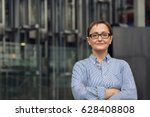 professional portrait of middle ... | Shutterstock . vector #628408808