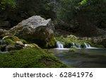 Small Waterfalls In Big Canyon...