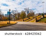 view of midtown atlanta and the ... | Shutterstock . vector #628425062