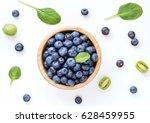 Fresh Organic Blueberries In...