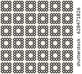 seamless tracery pattern.... | Shutterstock .eps vector #628471826