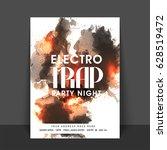 night music party celebration... | Shutterstock .eps vector #628519472