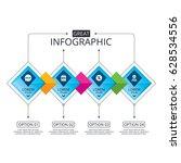 infographic flowchart template. ...