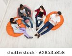 education and technology. young ... | Shutterstock . vector #628535858