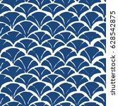chevron batik indigo seamless... | Shutterstock .eps vector #628542875