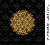 intricate design element for... | Shutterstock .eps vector #628561442