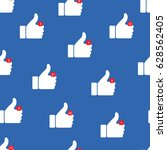 thumbs up icons. vector...   Shutterstock .eps vector #628562405