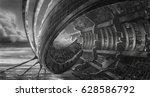 digital illustration of... | Shutterstock . vector #628586792